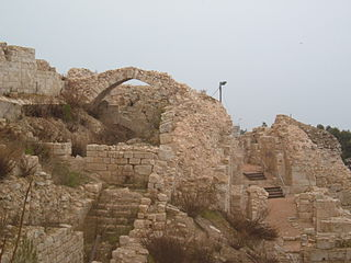 החפירות בחלק הדרומי של מצודת צפת