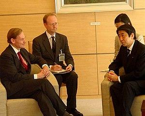 Shinzo Abe 2006