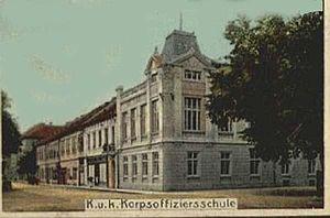 Deutsch: Korps-Offiziersschule in Theresienstadt
