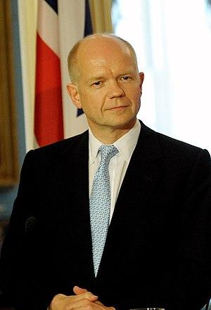 English: William Hague at the U.S. Deptartment...