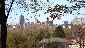 English: View of Allentown, Pa from Keck Park