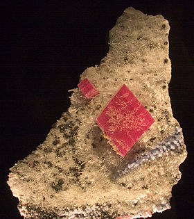 Alma King, le plus grand cristal de rhodochrosite connu.