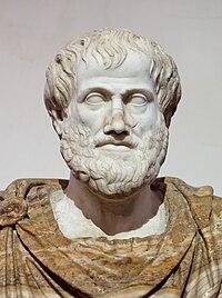 Ritratto di Aristotele, conservato a Palazzo Altaemps, Roma