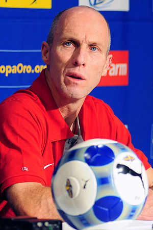 Photo of soccer coach, Bob Bradley. Wilson Won...