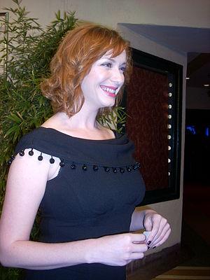 Actress Christina Hendricks at Chivas Regal Pr...