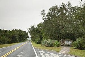 Everglades National Park east entrance