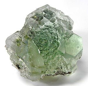 Fluorite specimen from Naica Mine. Note the cl...