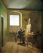 Peinture de chevalet  Wikipdia