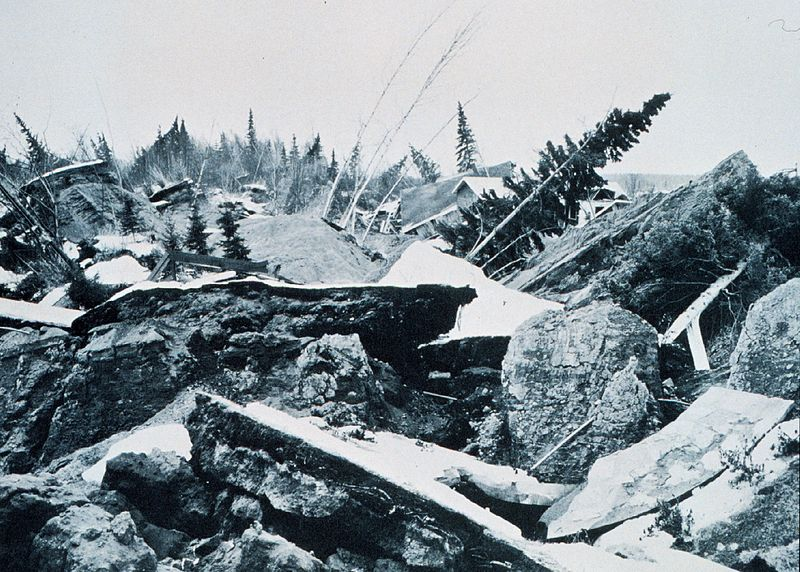 Turnagain, Alaska, 1964