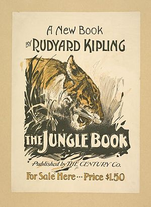 "English: The book poster for ""The Jungle ..."