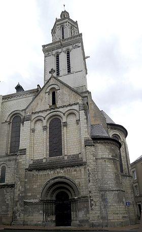 En L'église Ou à L'église : l'église, Église, Trinité, D'Angers, Wikipédia