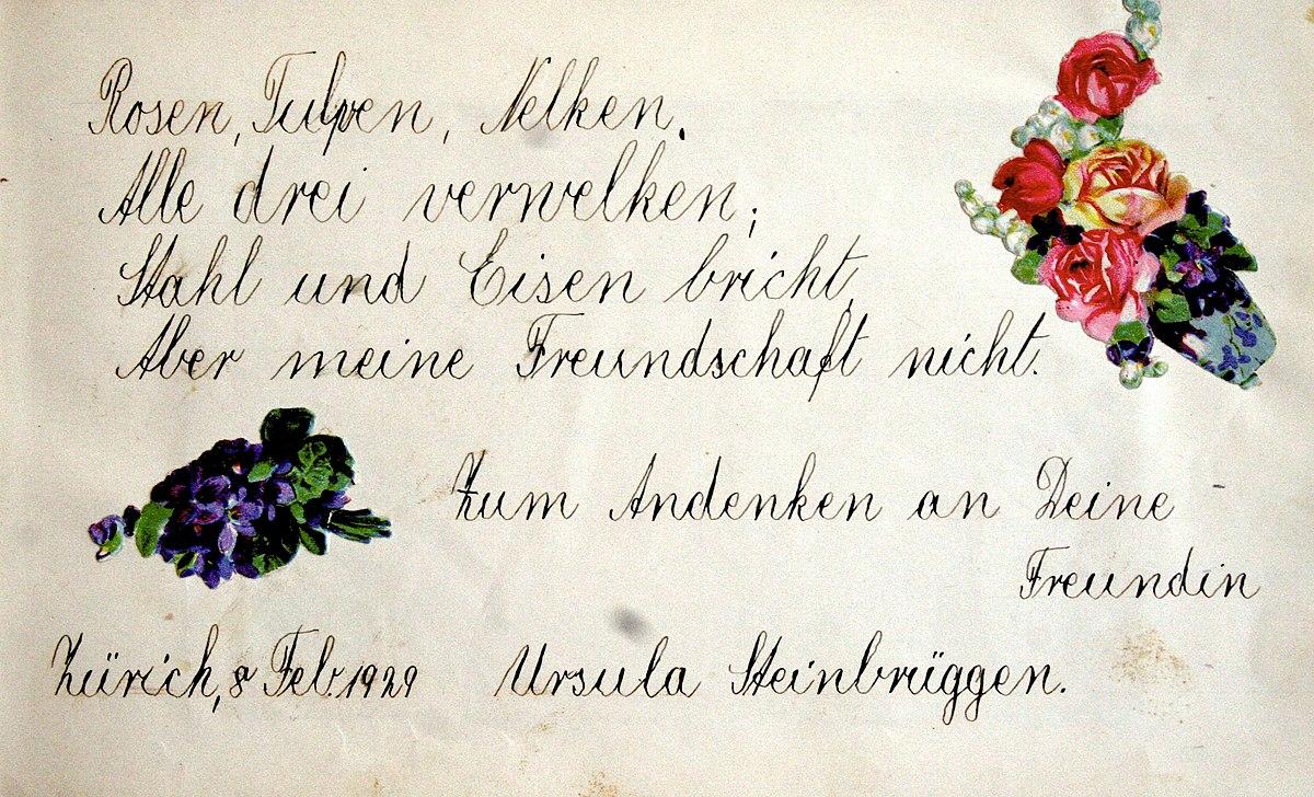Handschrift  Wiktionary