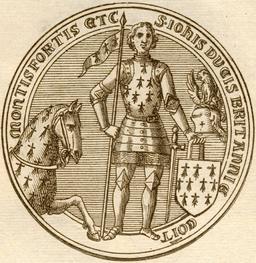 Sceau de Jean IV - Duc de Bretagne