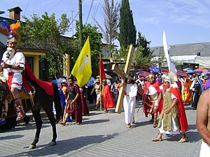 Holy Week in Tequixquiac Español: Semana Santa...