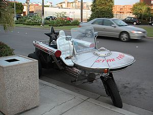 trekkies tuned motorcycle