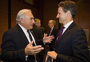 IMF Managing Director Dominique Strauss-Kahn (...
