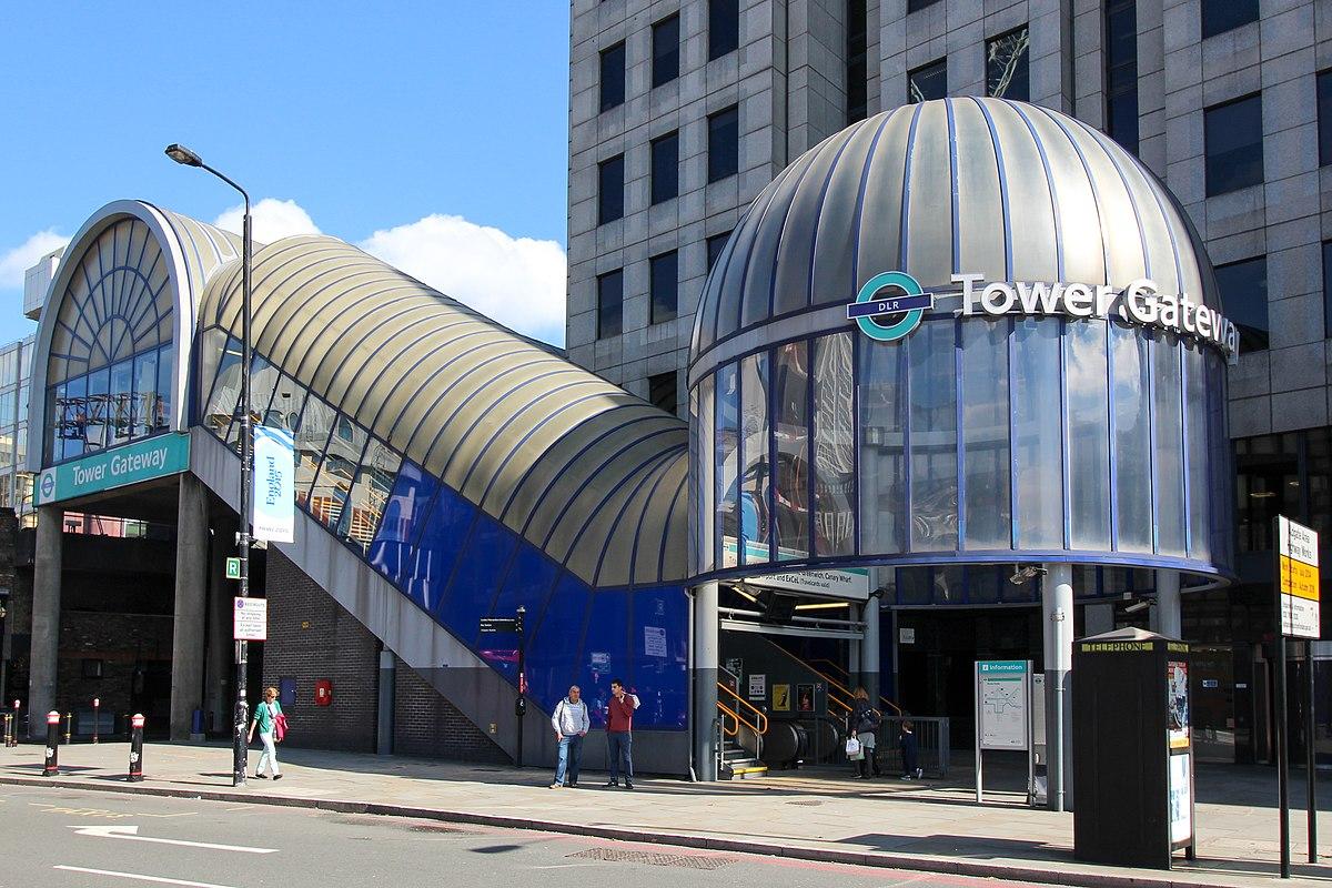 Tower Gateway Dlr Station Wikipedia