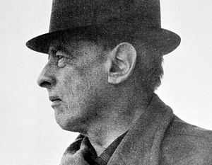 Witold Gombrowicz w Vence.
