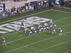 English: The 2011 Michigan State Spartans foot...