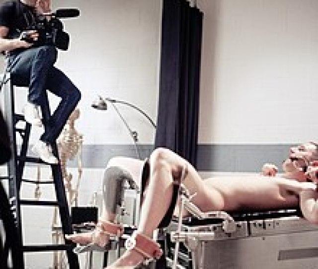 The Film Set For A Medical Fetishism Scene