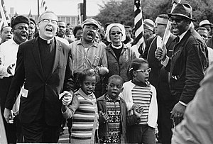 English: Civil Rights Movement Co-Founder Dr. ...