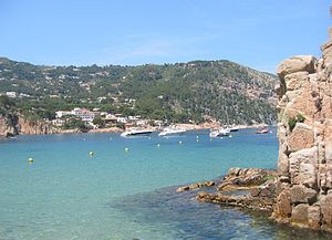 Aigua Blava, a small bay on the Costa Brava, G...