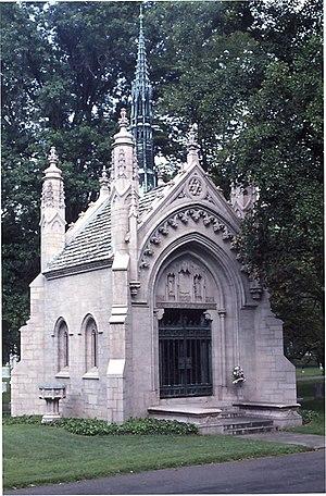 The Busch Mausoleum in Bellefontaine Cemetarie...