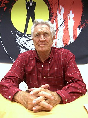 English: Actor George Lazenby at the November ...