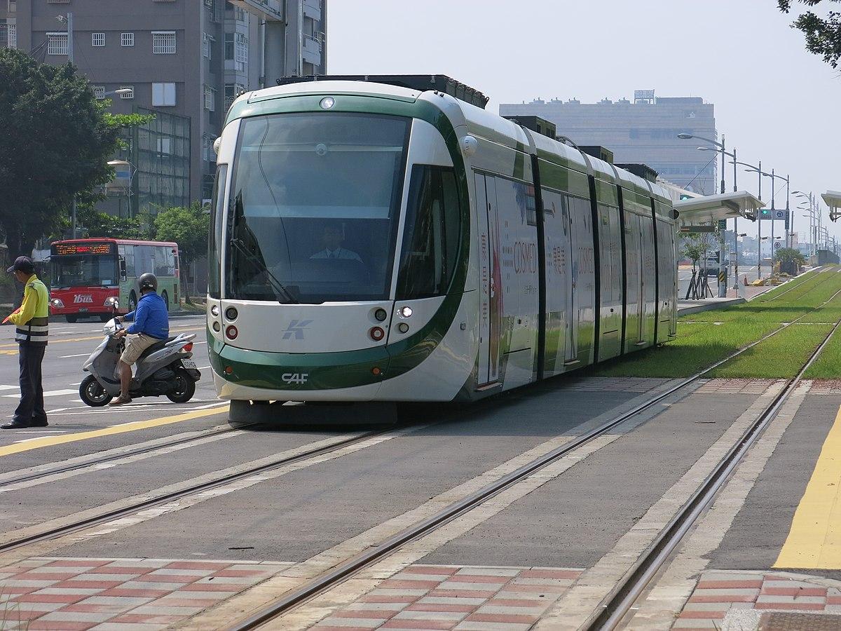 高雄捷運環狀輕軌CAF Urbos 3系電聯車 - 維基百科。自由的百科全書