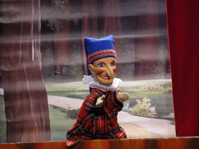 Kasperle puppet