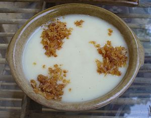 kishk, an Egyptian dish made with thickened mi...
