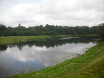 Luga River Russia