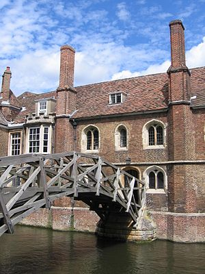 English: Queens' College and Mathematical Brid...