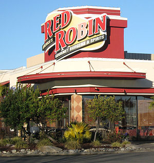 English: A Red Robin Restaurant in Tukwila, Wa...