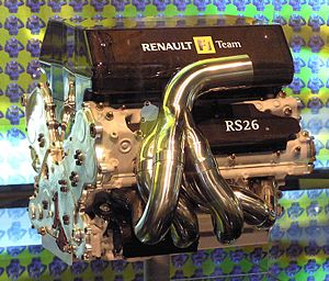 Renault F1: Renault RS26 (2006), V8 engine, 2,...