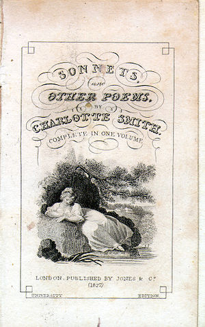 Title page, Sonnets and Other Poems by Charlot...