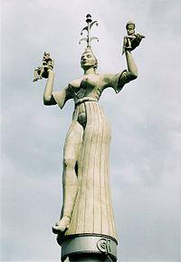 La statua di Imperia.