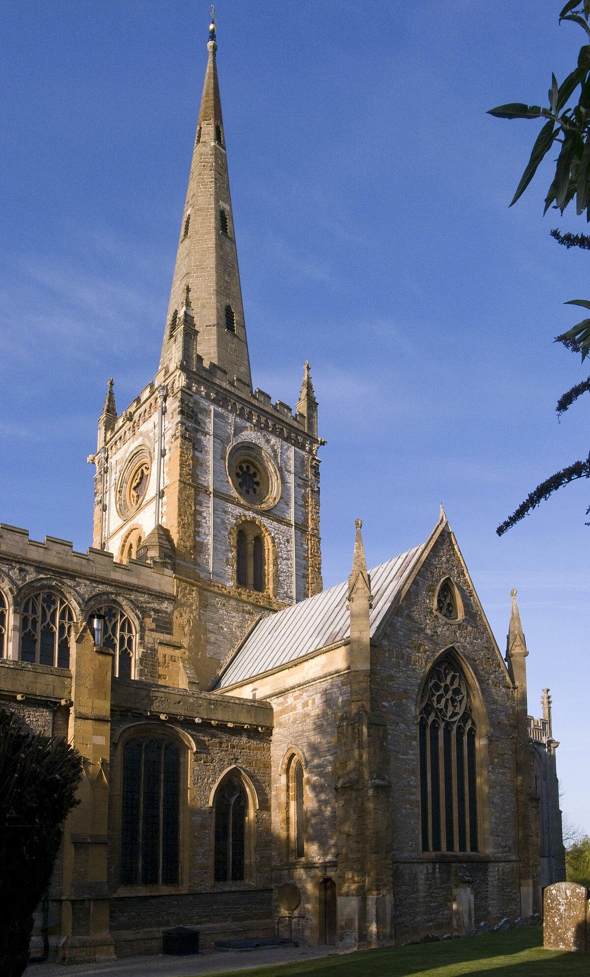 Church Of The Holy Trinity, Stratforduponavon  Wikipedia