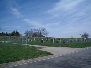 Stull Cemetery, in 2007