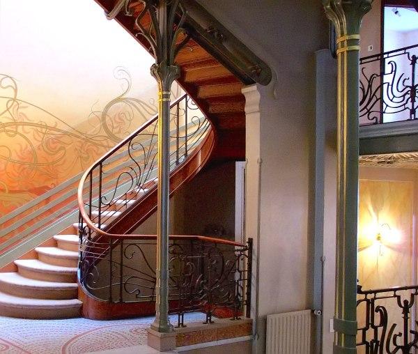 Victor Horta Stairway Tassel House