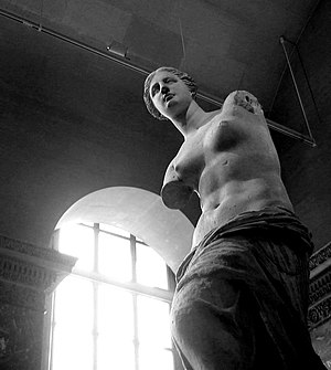 "So-called ""Venus de Milo"" (Aphrodite from Melo..."