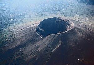 Vesuvius from plane
