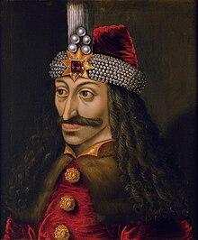Vlad Țepeș portrait du XVesiècle (château d'Ambras).