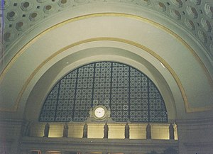 English: Union Station in Washington DC. Scan ...