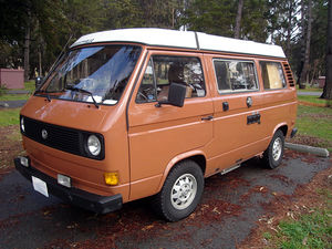 English: 1980 Vanagon Westfalia.