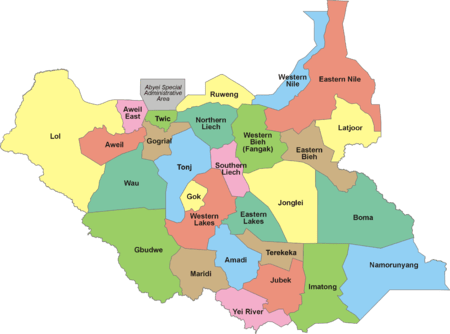 South Sudan Wikipedia