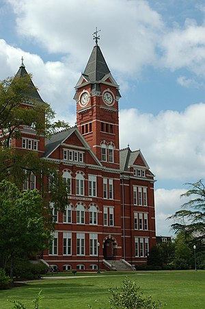 Auburn University's Samford Hall; taken Septem...