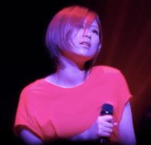 Ayaka perfoming in Matsuyama during her 2012 tour.tiff