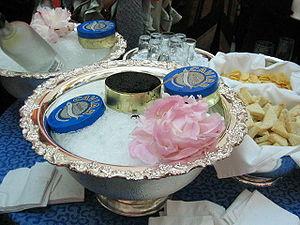 Español: Beluga caviar