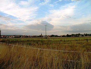 Deutsch: Ein Blick von Süden auf Ebing